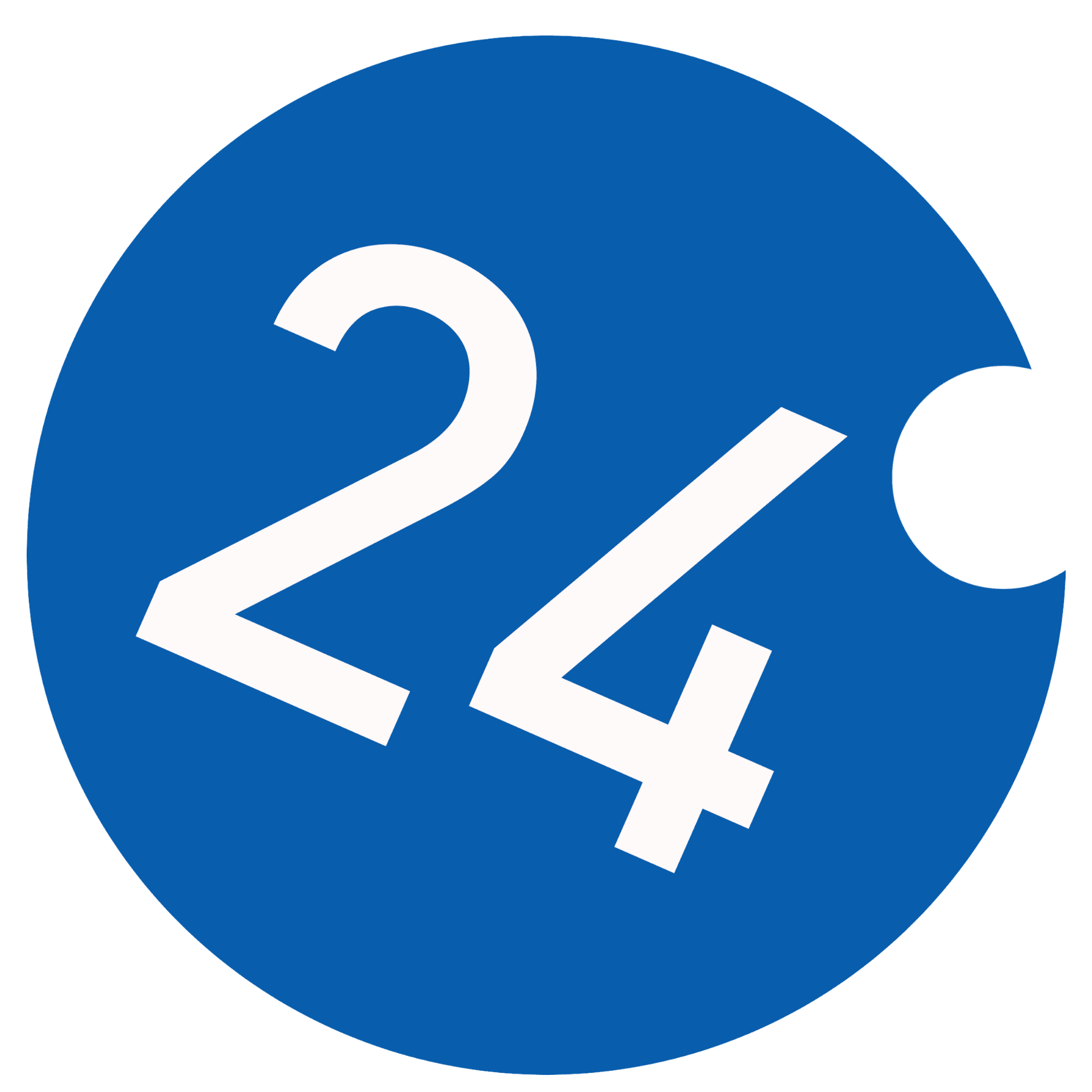 24 Degrees logo